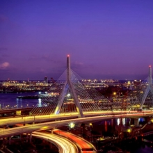 Boston Bunker Hill Bridge